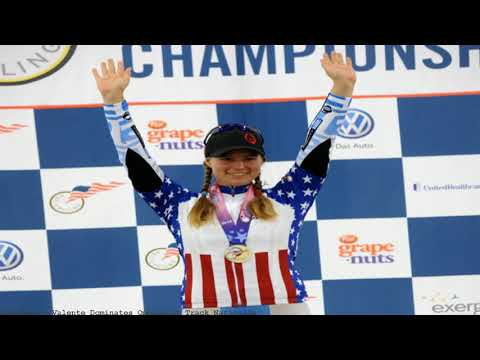 Valente Dominates Omnium at Track Nationals
