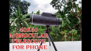 Monocular 40x60 Telescope for …