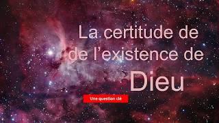 Certitude de l'existence de Dieu thumbnail