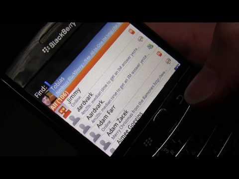 Nimbuzz on Blackberry