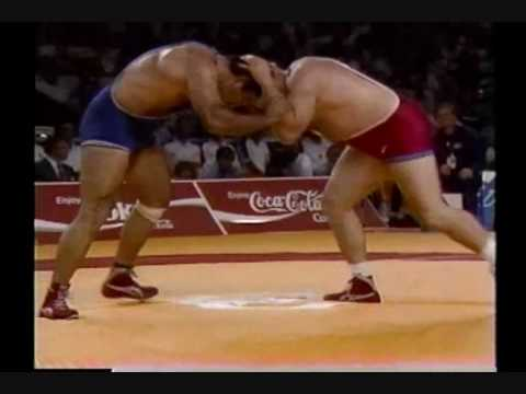 Bruce Baumgartner (USA) vs Ali-Reza Soleimani (IRN)