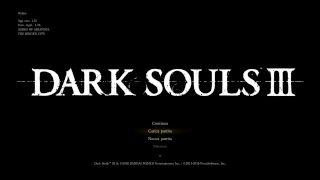 SONO TORNATO, DANCER - Dark Souls 3 SL1 Run 2nd Try [in LIVE], [9]