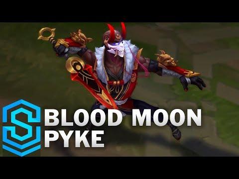 Blood Moon Pyke Skin Spotlight - Pre-Release - League of Legends
