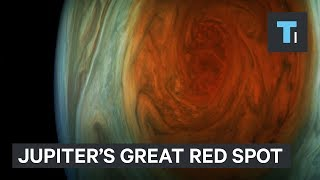 NASA released the closest-ever images of Jupiter's Great Red Spot