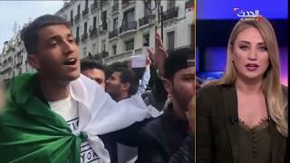 شاهد ماذا قالت مذيعة الحدث لضيفها الأميركي عن احتجاجات الجزائر !