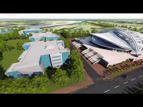 Proposed Sirajganj Economic Zone 3D animation360p