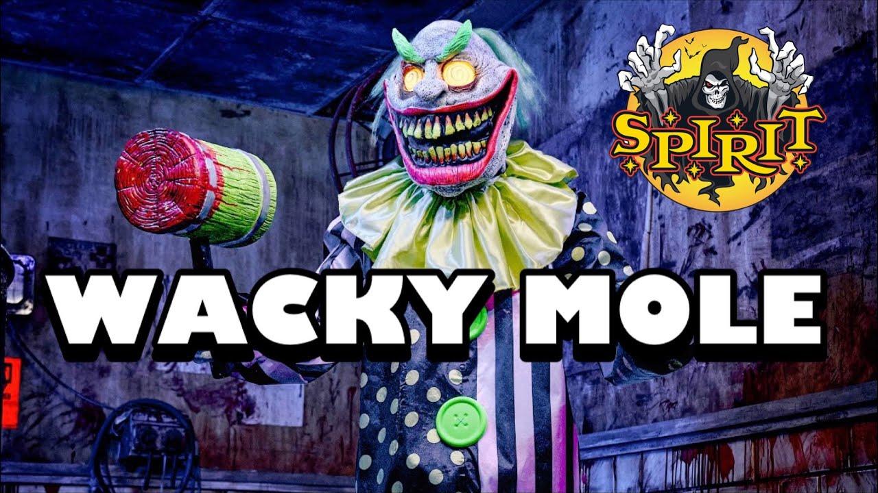 Wacky Mole Clown | Spirit Halloween 2021 sneak peeks