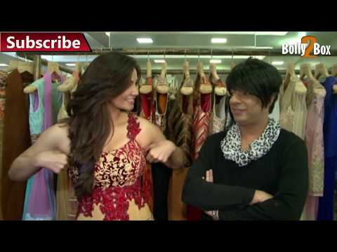 Daisy Shah At A Fittings Test For Designer Rohit Verma | Bolly2box