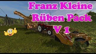 "[""Mod Vorstellung Farming Simulator Ls17: Franz Kleine Rüben"", ""Kleine Rüben Pack"", ""Franz Kleine Rüben Pack""]"
