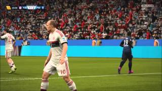 FIFA 16 Online Match Gameplay - Bayern Munich vs. PSG