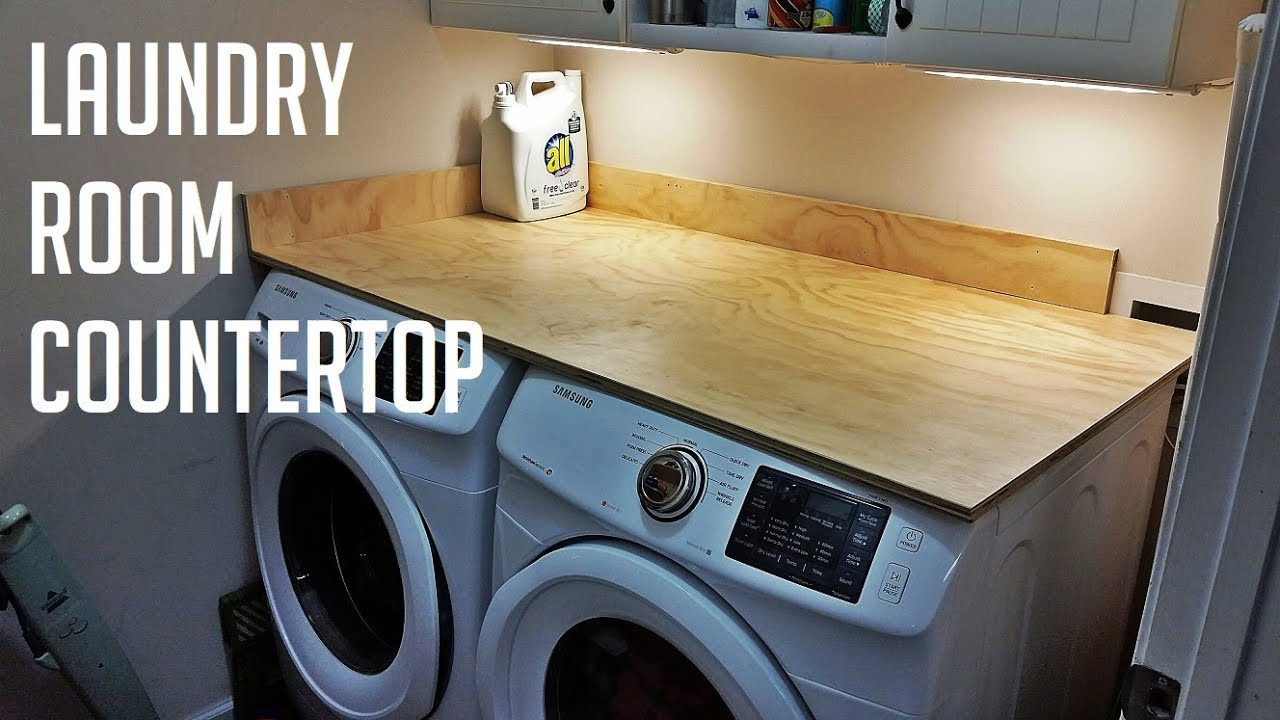 Laundry Room Counter Top You