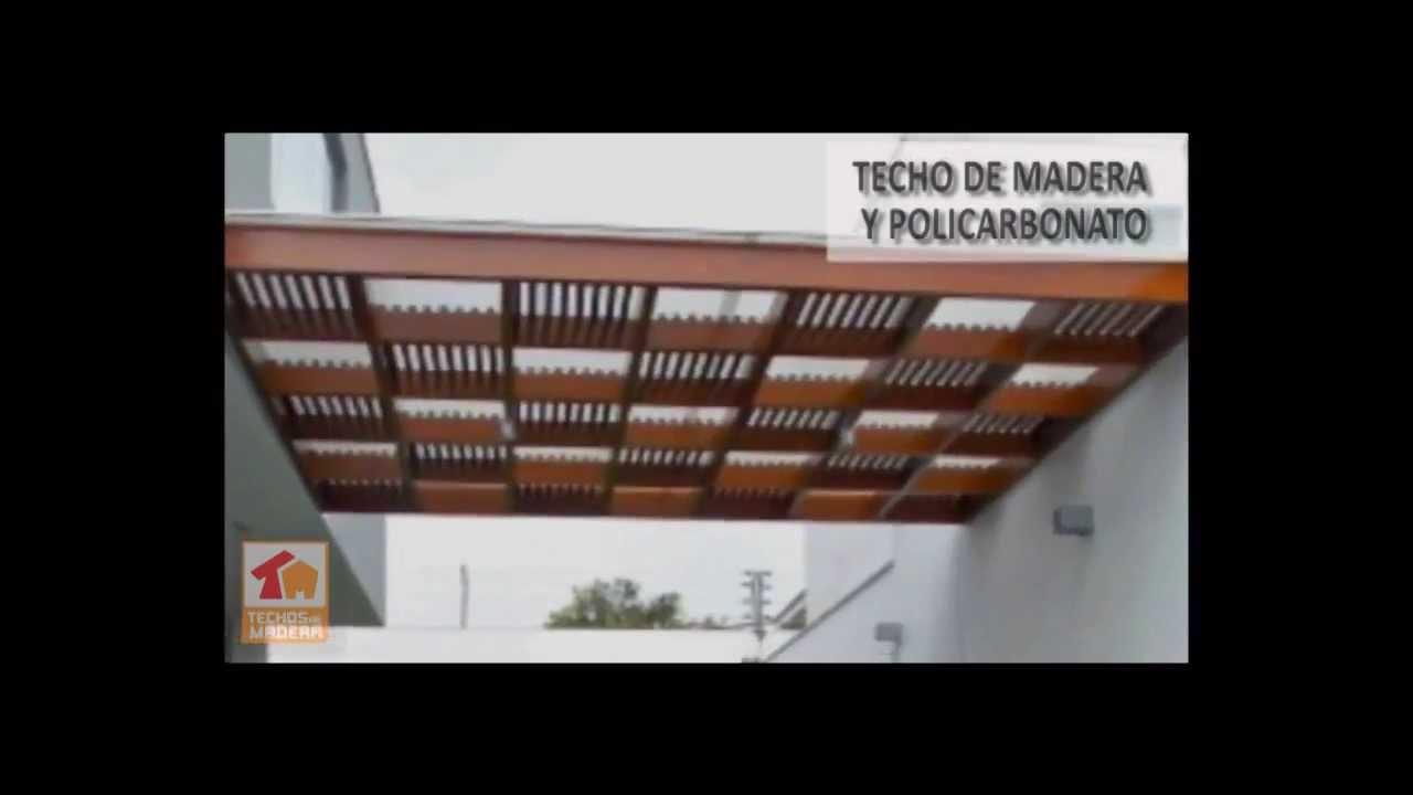 Instalacion De Techos Con Policarbonato Lima Peru Youtube