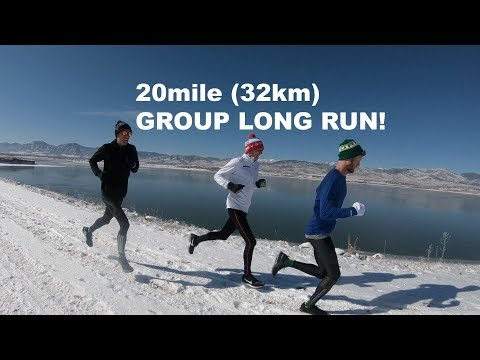 Elite Training Group Long Run: 20-miles (32km) in Boulder, CO | Sage Running Marathon EP. 3