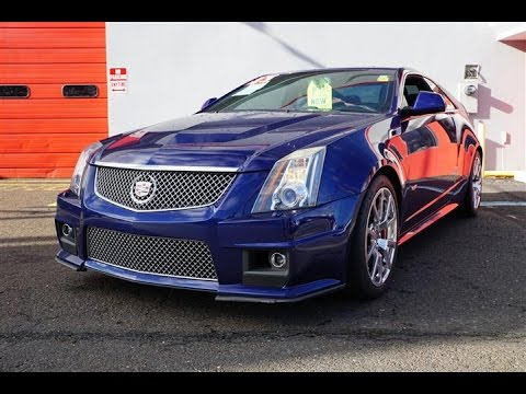 2013 Cadillac Cts V Coupe Review Youtube