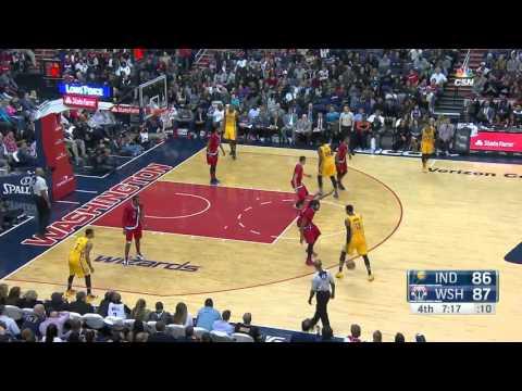 Indiana Pacers vs Washington Wizards | March 5, 2016 | NBA 2015-16 Season
