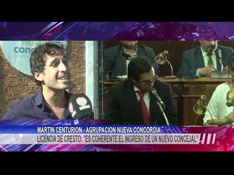 """Dr. Martín Centurión de Nueva Concordia: """"Martin Laffitte debería asumir como el 13° concejal"""""""