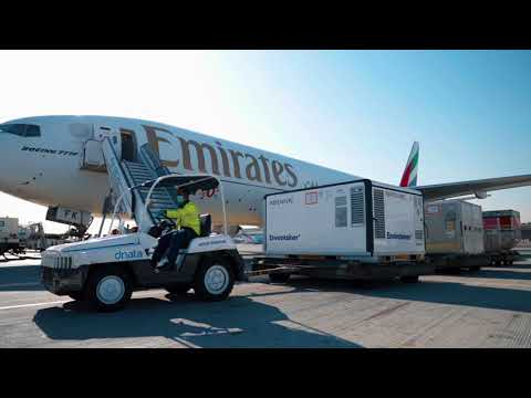 Dubai Vaccine Logistics Alliance | Emirates SkyCargo