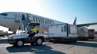 Dubai Vaccine Logistics Alliance | Emirates SkyCargo