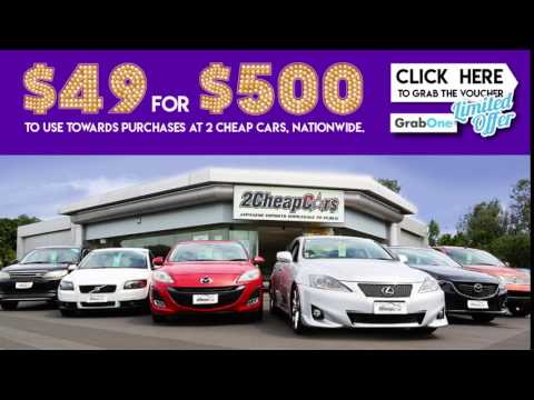 $500 Voucher for Any Car at Any 2 Cheap Cars! | GrabOne