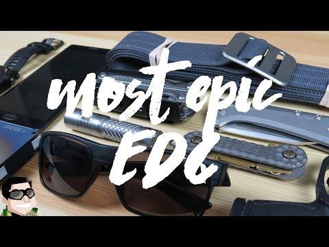 Most Epic Everyday Carry 2017 Titanium (EDC)
