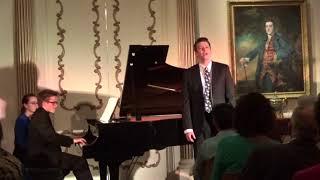 Mein wundes Herz from Brahms' Op. 59, No. 7 - Aryeh Nussbaum Cohen, countertenor