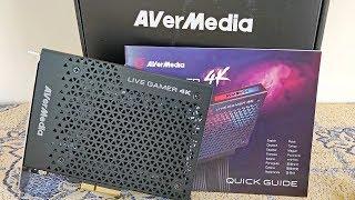 Avermedia LIVE GAMER 4K HDR - Unboxing & Test (BEST 4K HDR Capture & Streaming Capture Card)