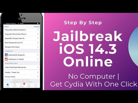 Jailbreak iOS 14.3 No Computer 2021  Without Computer/ How To Jailbreak iOS 14 Online Full Tutorial