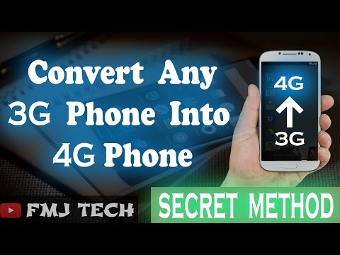 Convert 3G phone to 4G | NO_ROOT | 2017