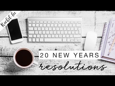 20 New Year's Resolutions For 2018