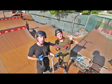 DAKOTA SCHUETZ VS JAKE ANGELES | SKATEPARK CHALLENGE
