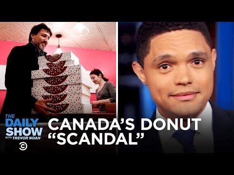 Justin Trudeau's Doughnuts,