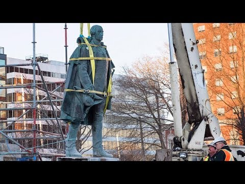 Controversial Cornwallis statue removed in Halifax