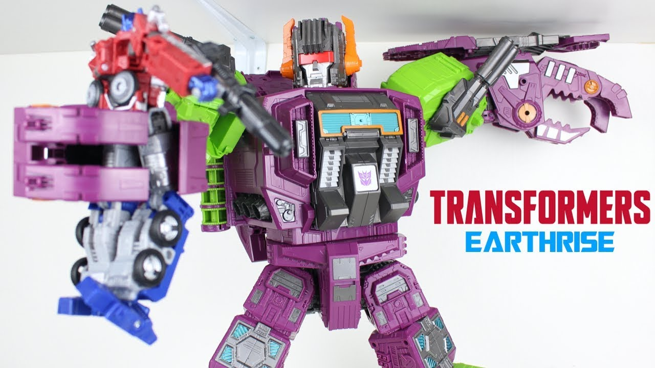 Titan Class Earthrise Scorponok and Zarack Review by PrimeVsPrime