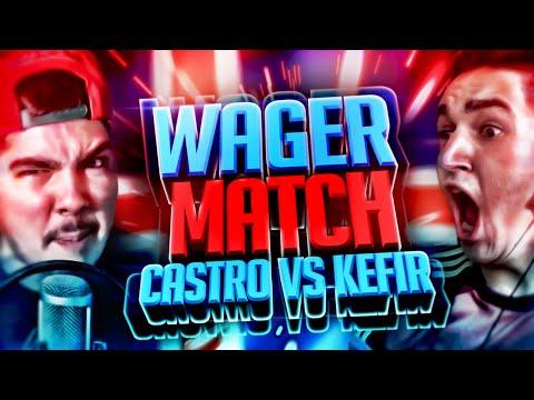 видео: FIFA 16 | KEFIR VS CASTRO | WAGER MATCH