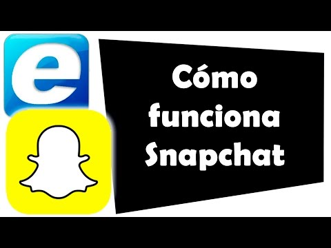 Cómo funciona Snapchat