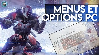 destiny2 review des menus et options pour la version pc