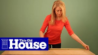 How To Build A Takeout Menu Holder - This Old House