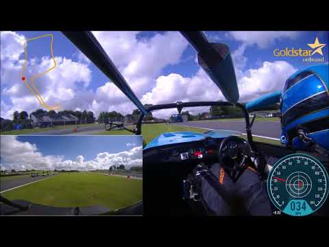 Caterham 270R   Oulton Park Race 1 2017   David Bevan