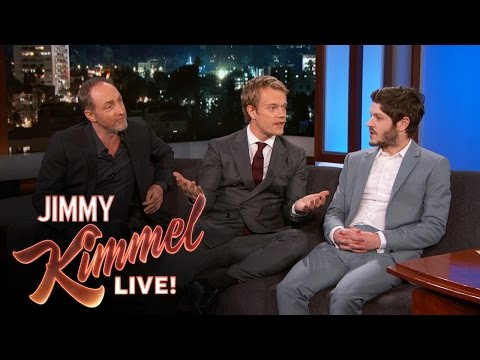 "Iwan Rheon, Michael McElhatton & Alfie Allen Talk ""Game of Thrones"""
