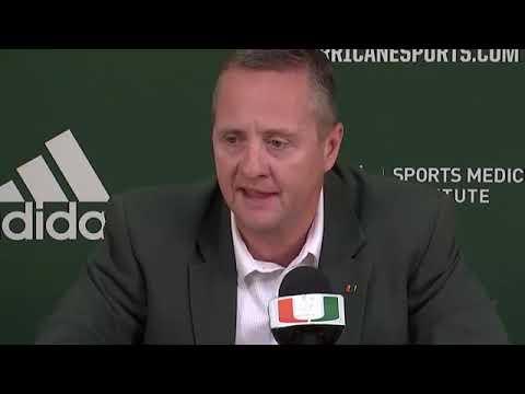 Blake James Press Conference on Mark Richt Retiring