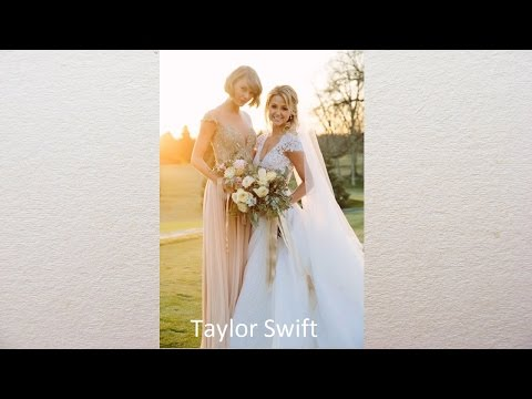 Stunning Celebrity Bridesmaids