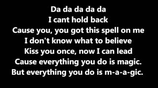 Magic - One Direction WITH LYRICS (Bonus Track From Take Me Home)