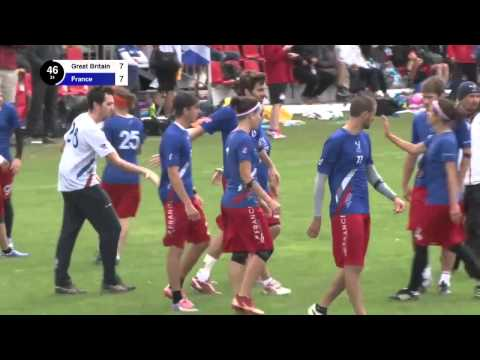 EUC 2015 - Great Britain vs France - Mixed (Pool Play)