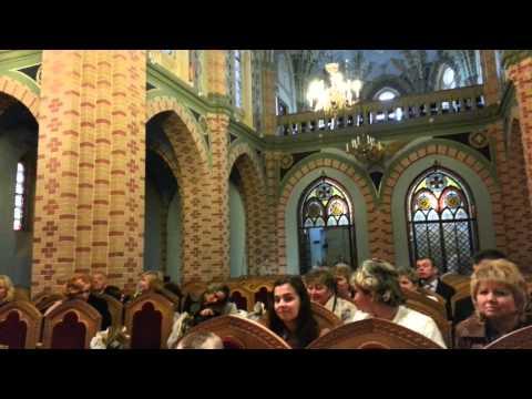 Органный зал в армянской церкви. Черновцы.
