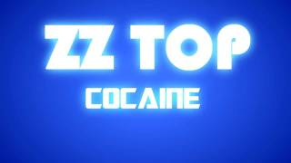 ZZ TOP - COCAINE (kinetic typography)