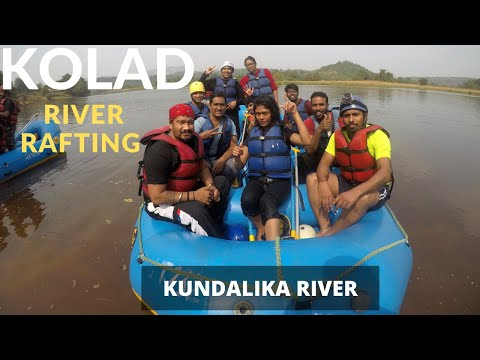 Kolad River Rafting & Camping | Kundalika White Water Rafting | Weekend getaways near Mumbai
