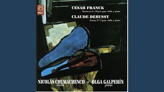 Sonata in A Major for Violin and Piano: Recitativo, Fantasia ben moderato