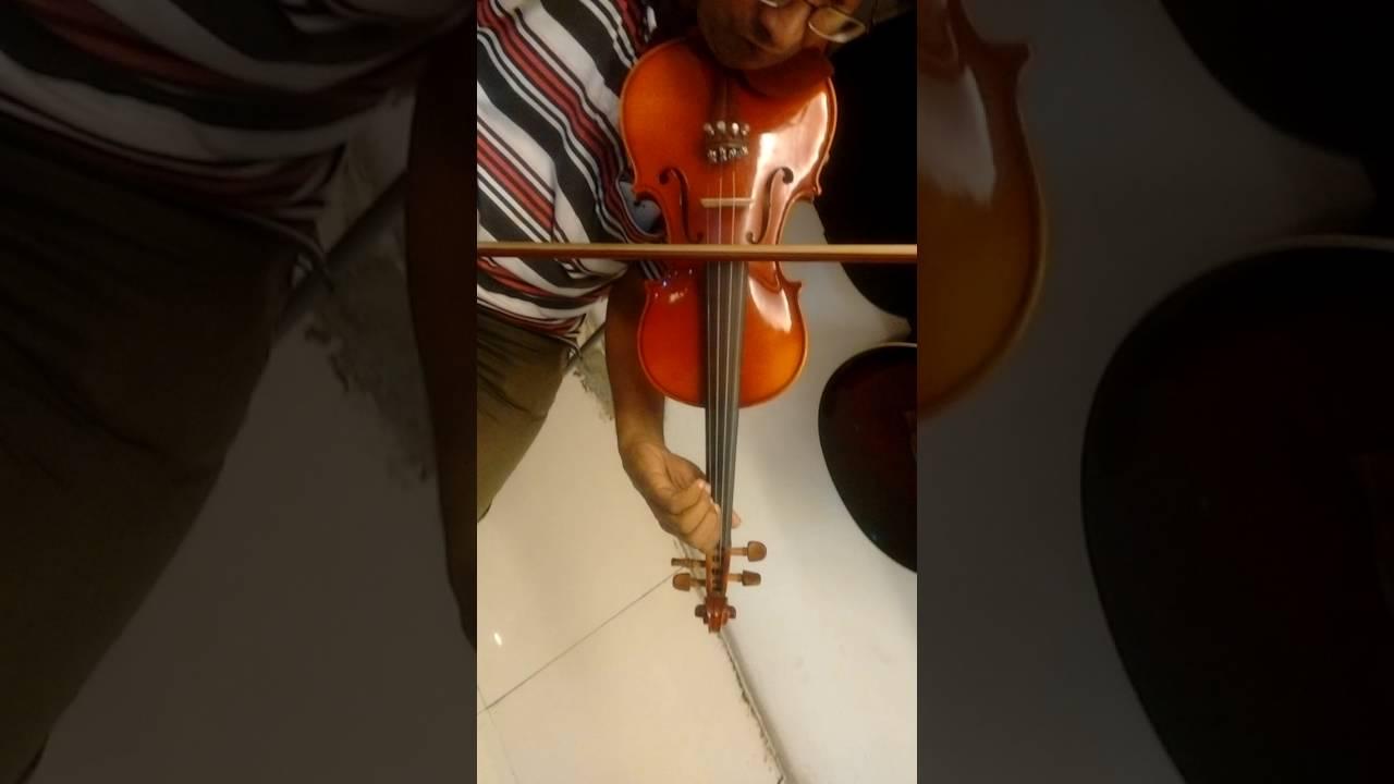 Violin Telugu Bahubali song