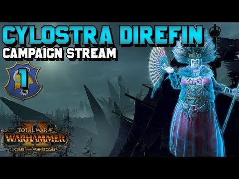 Cylostra Direfin + V-Coast Give Away! Early Access Campaign! #1 | Curse of the Vampire Coast