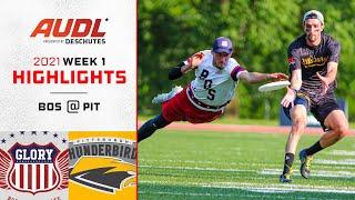 Boston Glory at Pittsburgh Thunderbirds   Week 1   Game Highlights